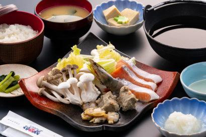 さっぱりおろし味の海鮮鍋御膳