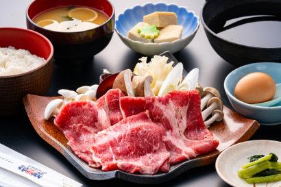 牛肉すき焼き御膳